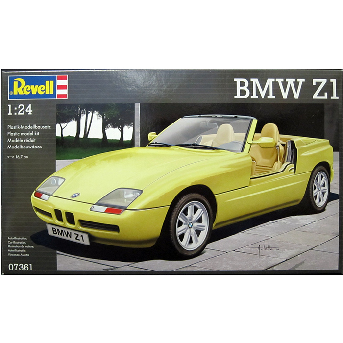 revell 1 24 bmw z1 garitto. Black Bedroom Furniture Sets. Home Design Ideas