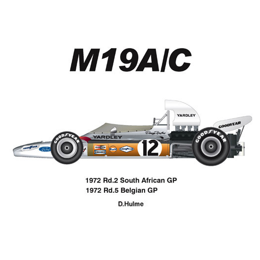 MFH 1/20 マクラーレン M19A/C Ver.C 1972 南アフリカ/ベルギーGP