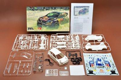 画像1: BELKITS 1/24 フォルクスワーゲン ポロ R WRC 2015