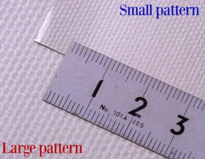 画像1: MFH 糊付極薄アルミシート 金属きさげ加工模様 ラージパターン