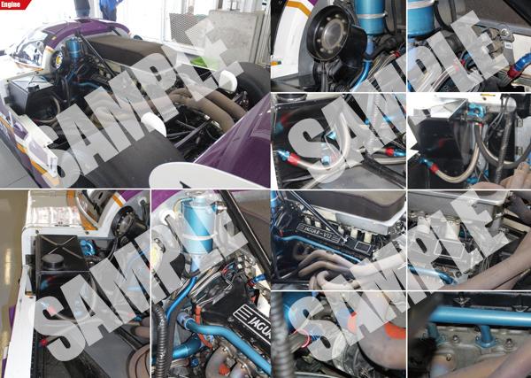 モデルファクトリーヒロ MFH PHOTOGRAPH COLLECTION Vol.7 ジャガー XJR9 / XJR8 sprint in Detail