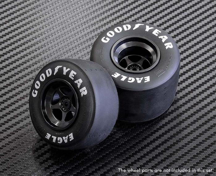 モデルファクトリーヒロ MFH P-1158 1/12 80's F1 タイヤセット タミヤ対応