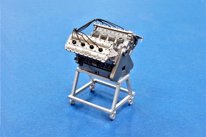 モデルファクトリーヒロ MFH P-991 1/20 エンジン&ピットスタンド