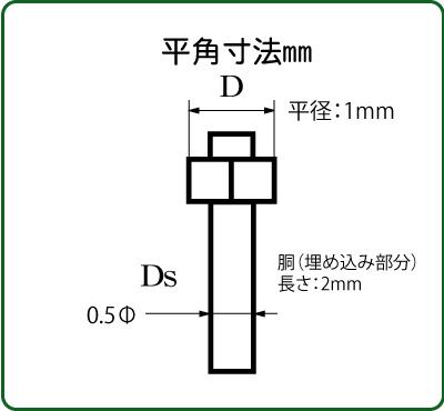 さかつう 4501 六角ボルト/ナット 平径1.0mm 10個入り