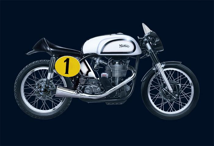 イタレリ 4602 1/9 ノートン マンクス 500cc 1951