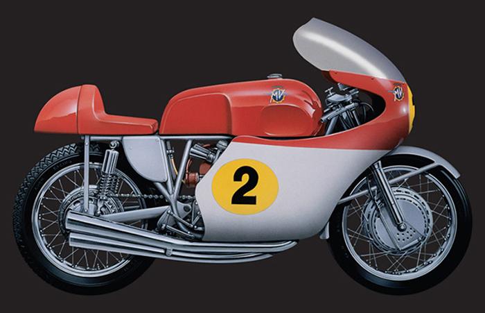 イタレリ 4630 1/9 MV アグスタ 500cc. 4 CYLINDERS 1964