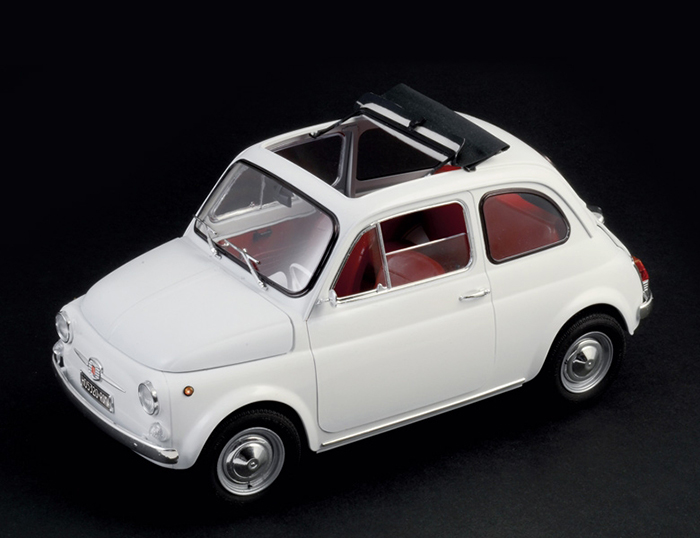 イタレリ 1/12 フィアット 500F 1968