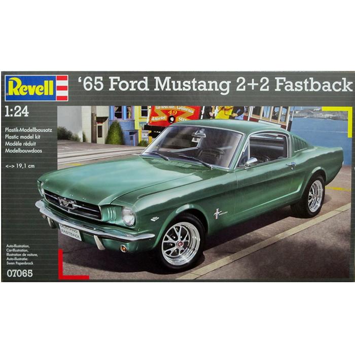 ドイツレベル 1 24 フォード マスタング 1965 2 2 fastback クアトロ