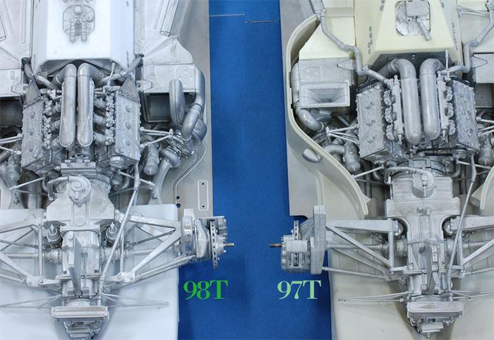 モデルファクトリーヒロ MFH 1/12 ロータス タイプ 98T