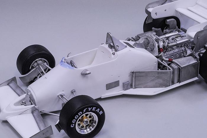 モデルファクトリーヒロ MFH 1/12 フェラーリ 126C4