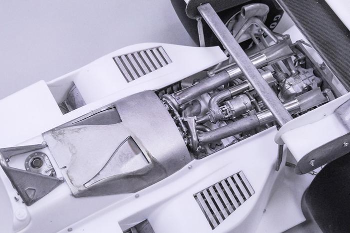 モデルファクトリーヒロ MFH 1/12 フェラーリ 126C4M2