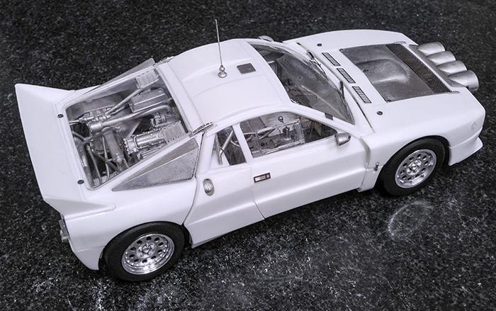 モデルファクトリーヒロ MFH 1/24 ランチア・ラリー037