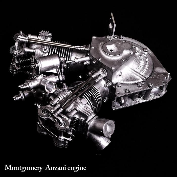 モデルファクトリーヒロ MFH K540 1/9 MONTGOMERY BRITISH ANZANI 8/38h.p.
