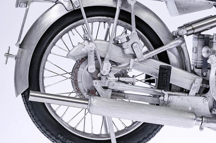 モデルファクトリーヒロ MFH K567 1/9 HRD ヴィンセント ブラックシャドウ 1948