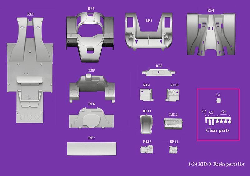 モデルファクトリーヒロ MFH 1/24 ジャガー XJR-9 LM