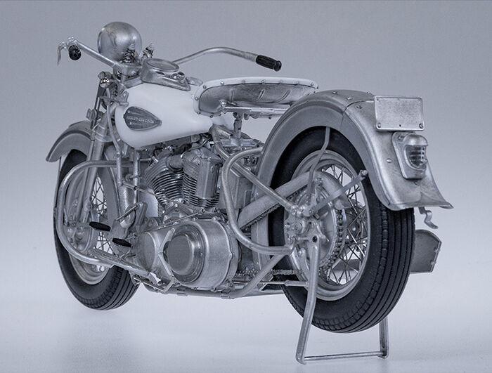 モデルファクトリーヒロ MFH K637 K638 1/9 ハーレーダビッドソン ナックルヘッド 1940 1947
