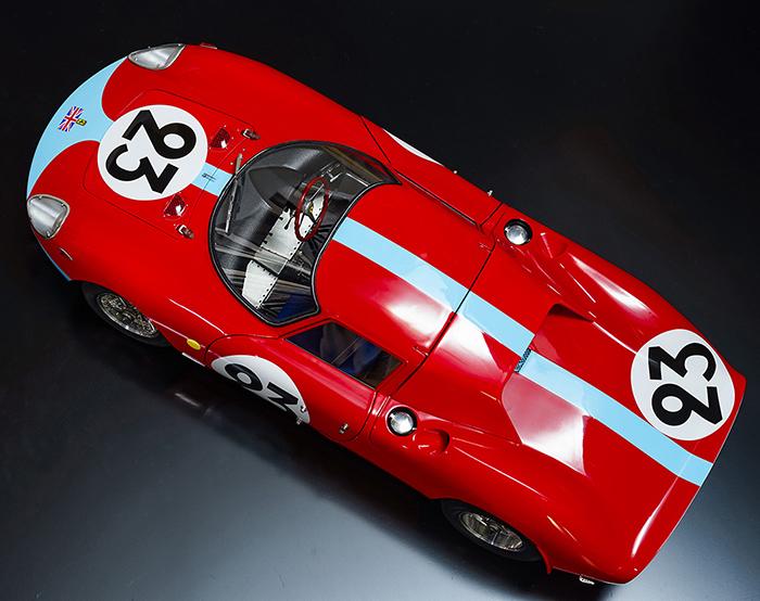 モデルファクトリーヒロ MFH 1/12 フェラーリ 250LM ラバーパーツ