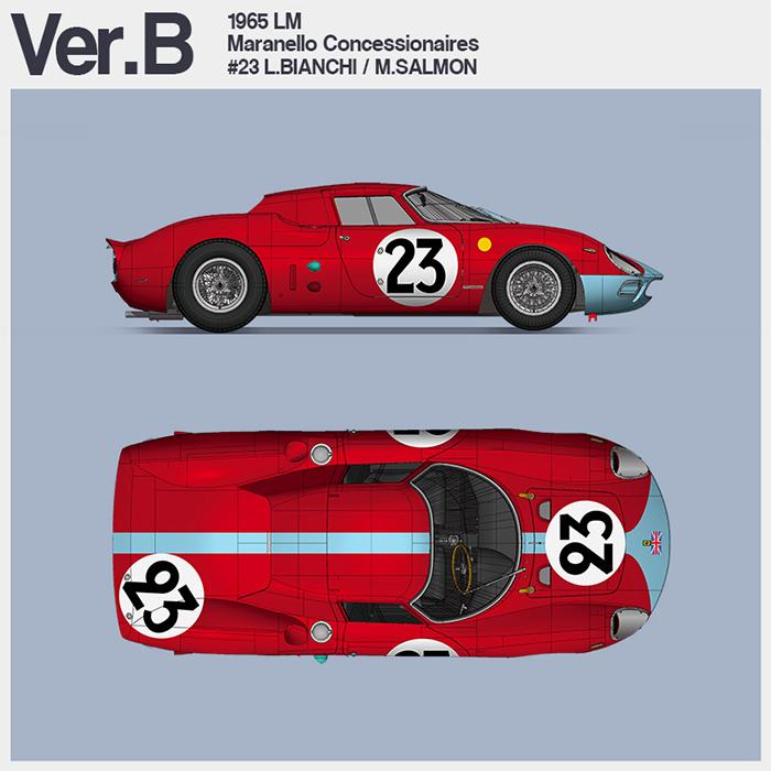 モデルファクトリーヒロ MFH K654 1/12 フェラーリ 250LM Ver.B