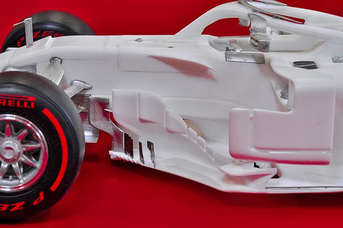 モデルファクトリーヒロ MFH 1/12 フェラーリ SF71H