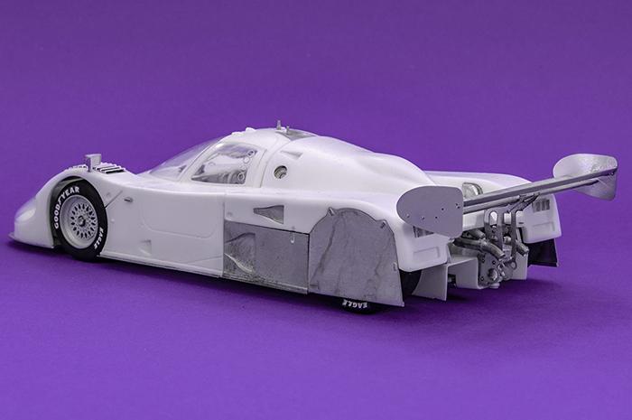 モデルファクトリーヒロ MFH 1/24 ジャガー XJR-12
