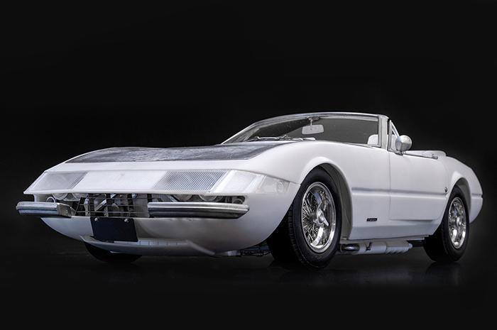 モデルファクトリーヒロ MFH K688 1/12 フェラーリ 365 GTS/4