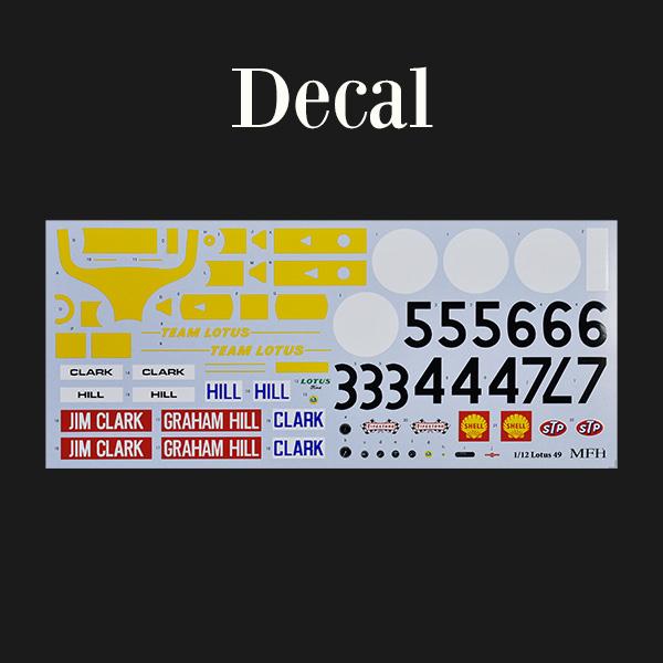 モデルファクトリーヒロ MFH 1/12 ロータス タイプ 49