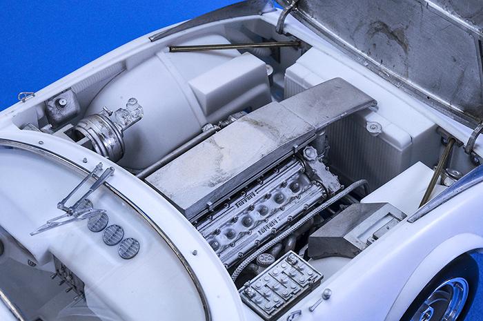 モデルファクトリーヒロ MFH 1/12 フェラーリ 365 GTB/4 Racing