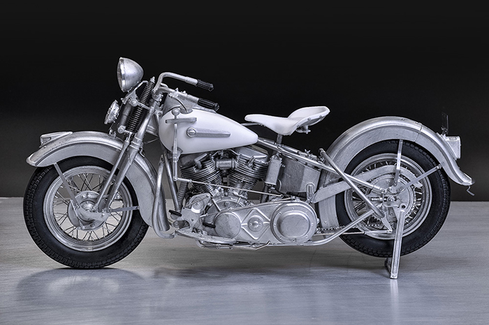 モデルファクトリーヒロ MFH 1/9 ハーレーダビッドソン パンヘッド 1948