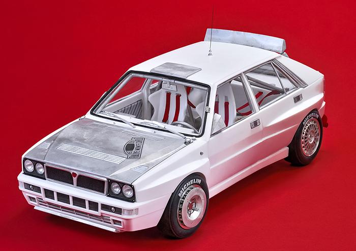 モデルファクトリーヒロ MFH 1/12 デルタ HF インテグラーレ Evo 1992