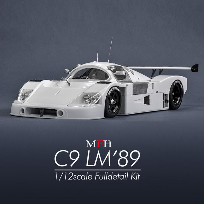 モデルファクトリーヒロ MFH K733 1/12 ザウバー C9 LM `89