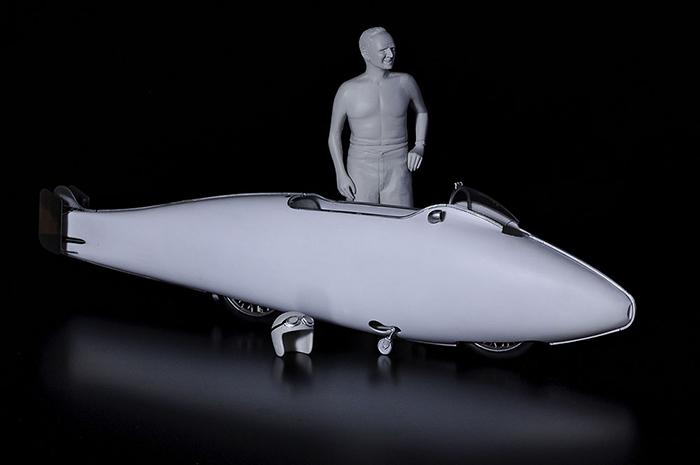 モデルファクトリーヒロ MFH K734 1/9 バート マンロー スペシャル [Speed record in 1962]