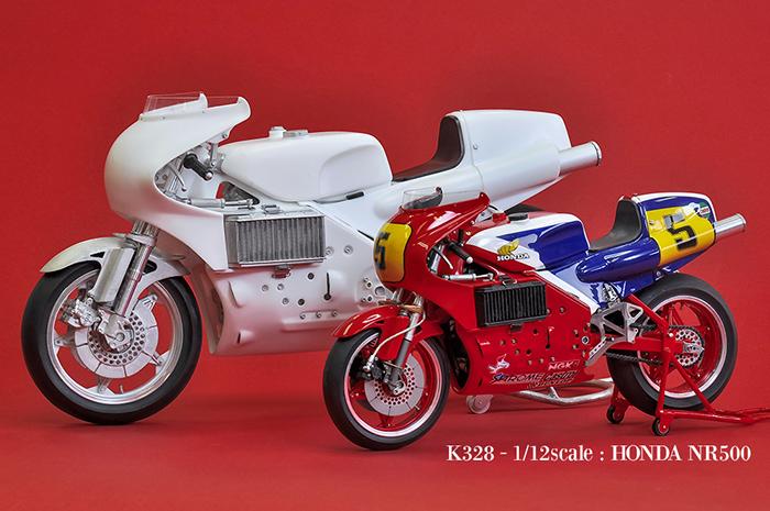 モデルファクトリーヒロ MFH K735 1/9 HONDA NR500 [NR1]