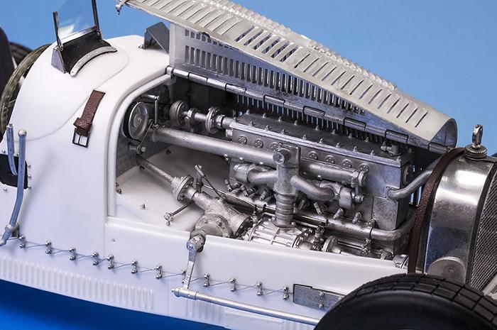 モデルファクトリーヒロ MFH K736 1/12 ブガッティ タイプ35