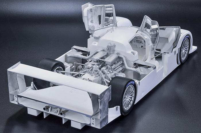 モデルファクトリーヒロ MFH K739 1/12 ベントレー Speed8 2003 LM