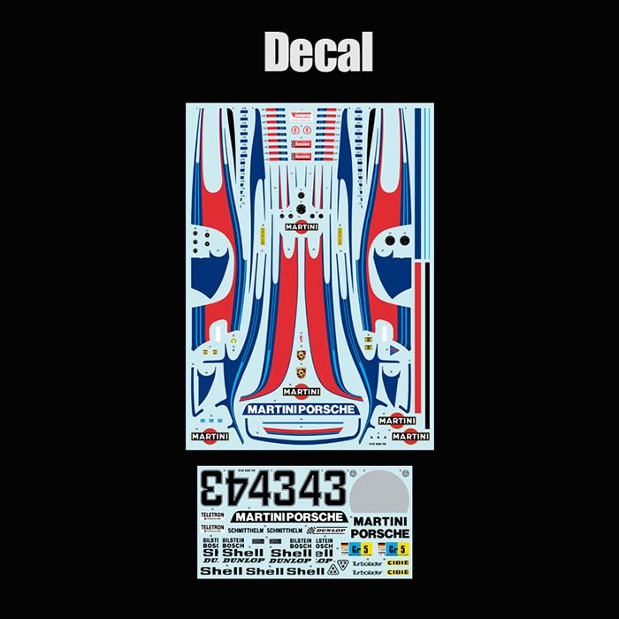 モデルファクトリーヒロ MFH K740 1/12 ポルシェ935/78 `Moby Dick`