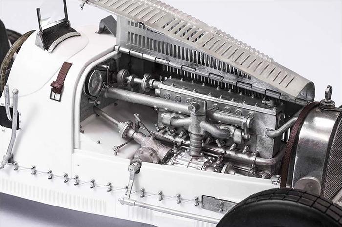 モデルファクトリーヒロ MFH K741 1/12 ブガッティ タイプ35 1928 Targa Florio