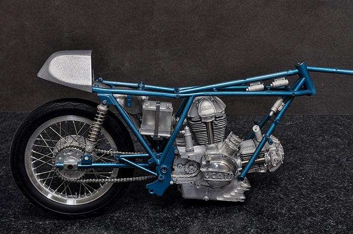 モデルファクトリーヒロ MFH K743 1/9 ドゥカティ 750 Imola Racer 1972