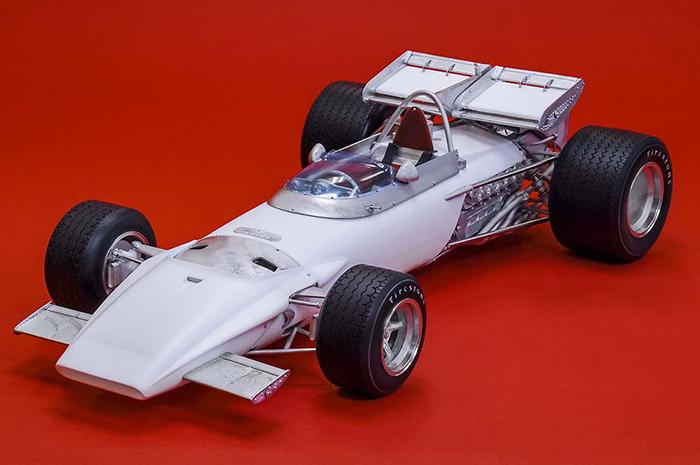 モデルファクトリーヒロ MFH K744 1/12 フェラーリ 312B 1970