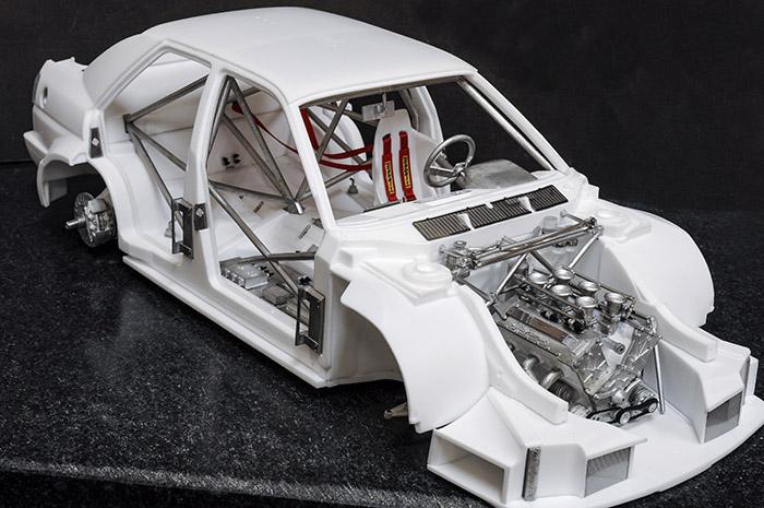 モデルファクトリーヒロ MFH K762 1/12 アルファロメオ 155 V6 TI [DTM 1993]