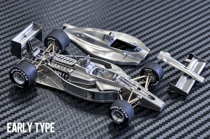モデルファクトリーヒロ MFH K783 K784 K785 1/43 フェラーリ F1-89 (640)
