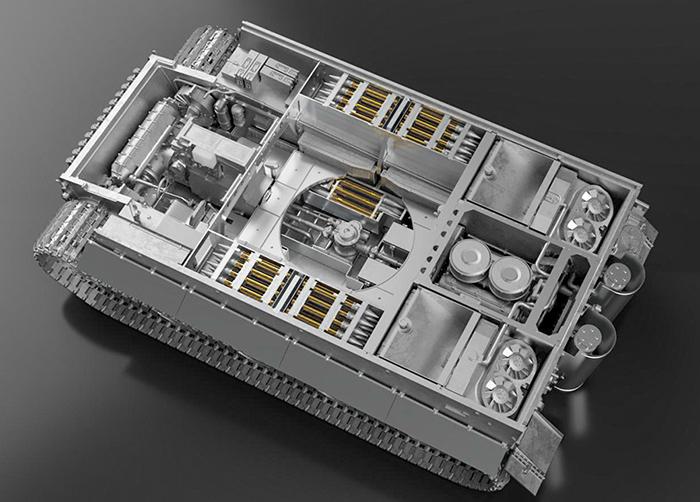 モデルファクトリーヒロ MFH MK006 1/35 ドイツ重戦車 ティーガーI 後期生産型 フルメタルVer.