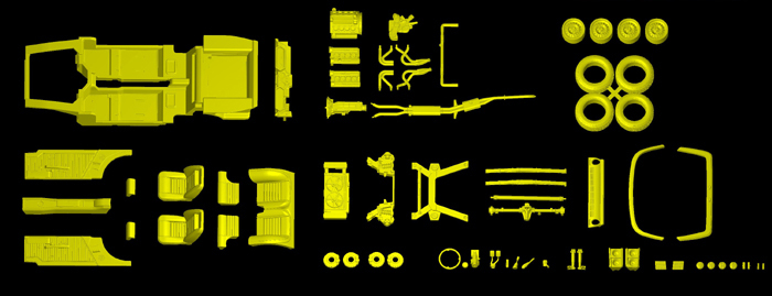 SMP24 1/24 マセラティ インディ